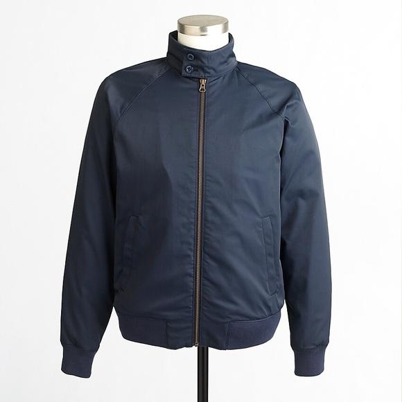 J. Crew Factory Other - J. Crew Factory Chatham Harrington Jacket Blue XS